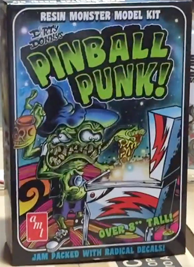 Dirty Donny's Pinball Punk! resin kit