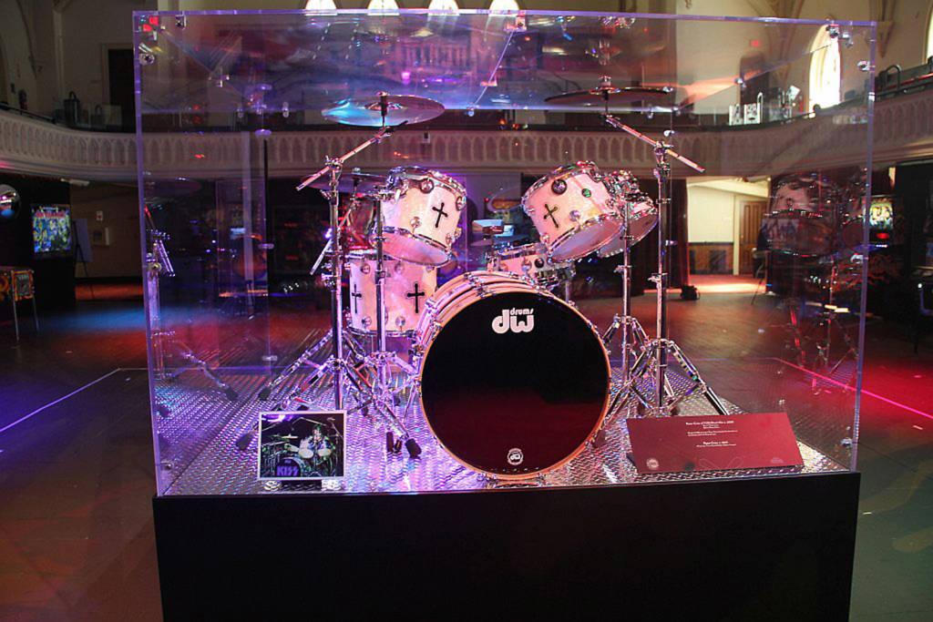 Peter Criss's drum kit