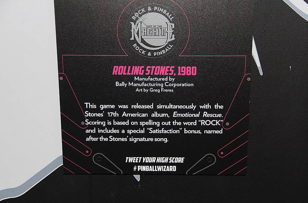 The description of The Rolling Stones