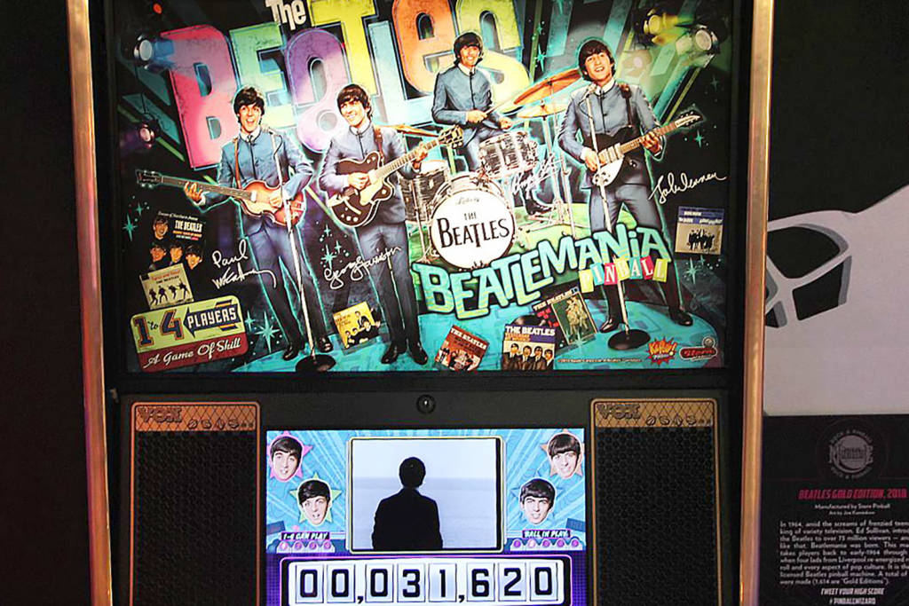 Stern Pinball's The Beatles: Beatlemania Pinball