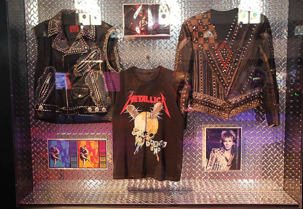 Metallica jackets and a T-shirt