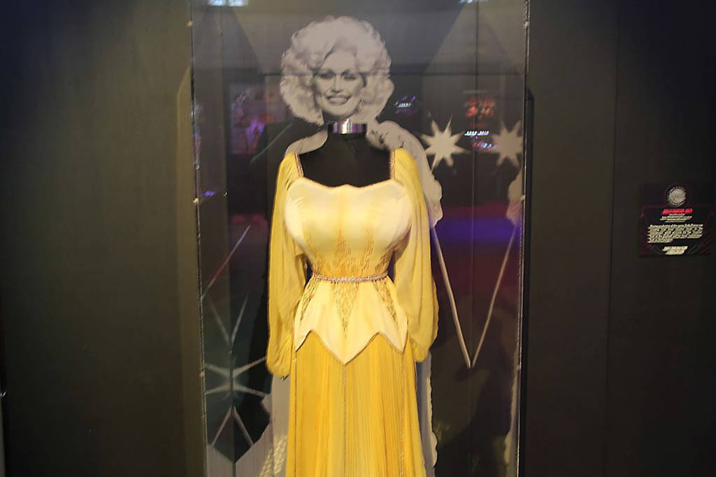 This dress worn by Dolly Parton later appeared on her namesake machine