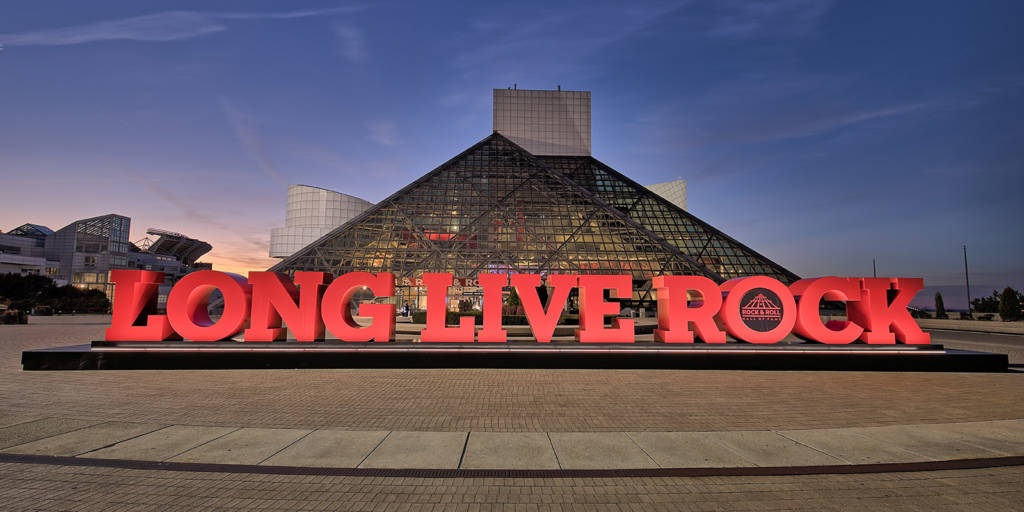 The Rock and Roll Hall of Fame in Cleveland (picture: Rock and Roll Hall of Fame)