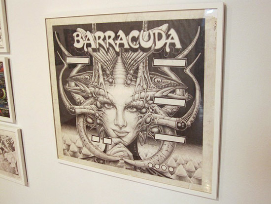 Artwork from Doug Watson for Barracuda before it became Barracora