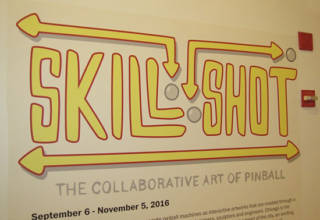 The Skillshot, The Collaborative Art of Pinball exhibition