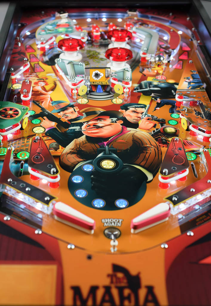 The playfield from The Mafia