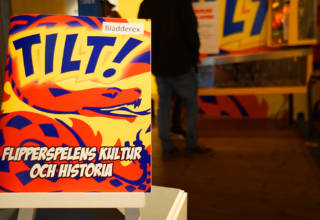 The Tilt exhibition at the museum in Skara, Sweden