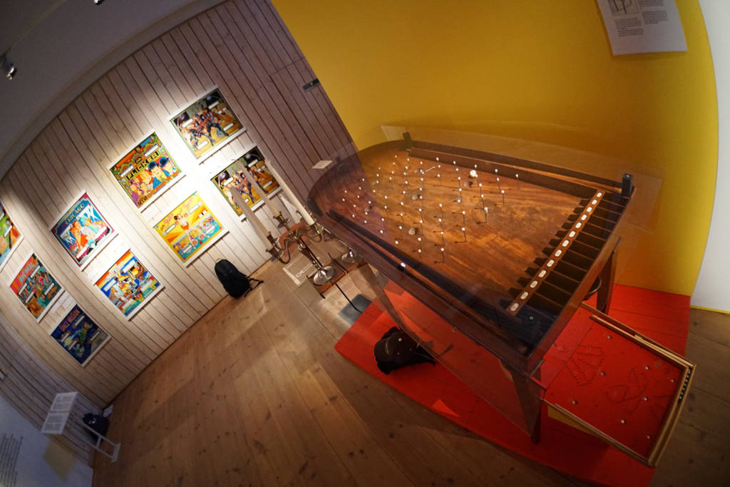 The history of pinball was on display from its earliest origins through to today