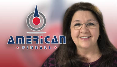 American Pinball's new Senior Mechanical Engineer, Zofia Ryan