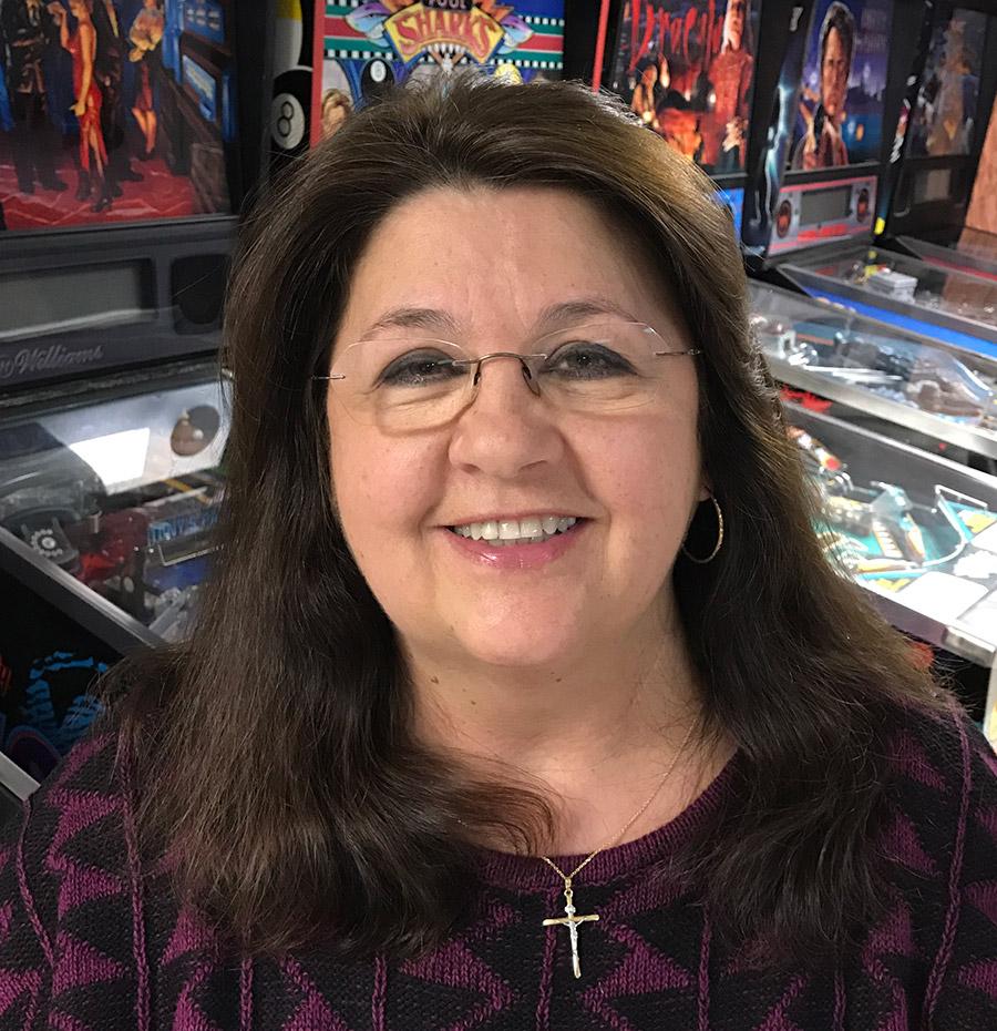 American Pinball's new Senior Mechanical Engineer, Zofia Ryan