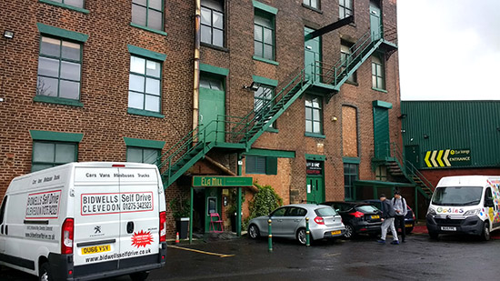 Ela Mill - the home of Arcade Club
