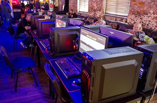The gaming PCs