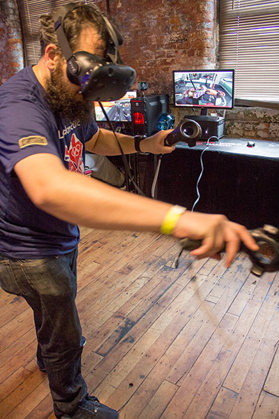 Virtual Reality kit could also be tried