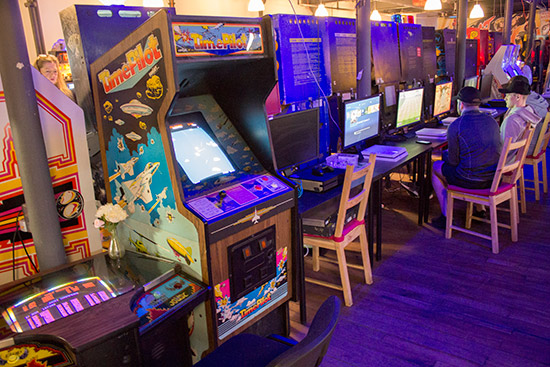 More arcade games and consoles