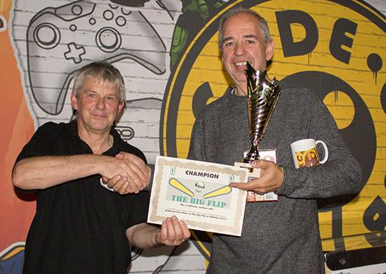 Winner of The Big Flip, Martin Ayub