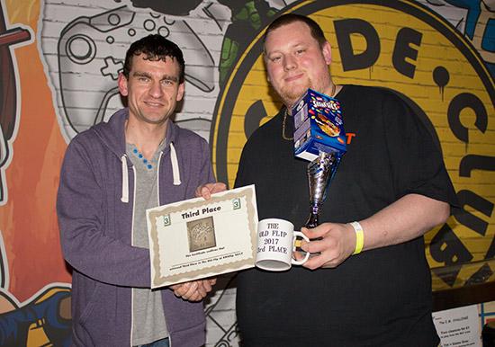 Third place, Matt Vince