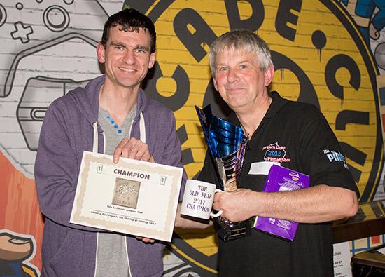 Winner of The Old Flip 2017, David Dutton