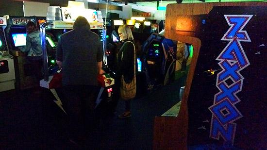 Classic video games at Arcade Club
