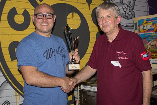 Second place, Craig Pullen