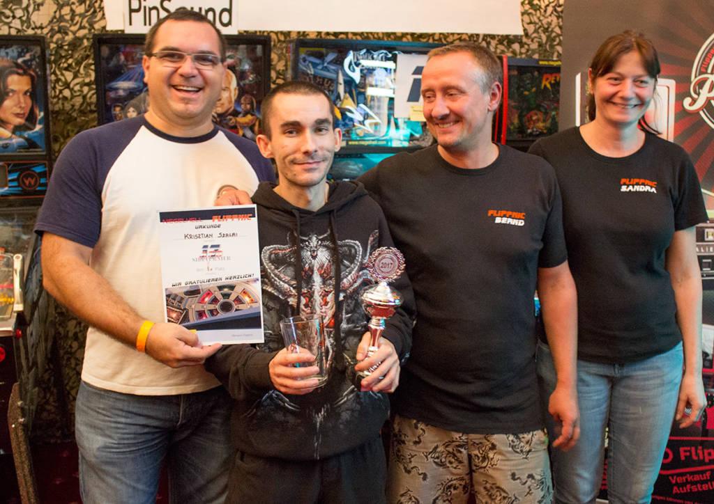 Winner of the Side Tournament, Krisztián Szalai