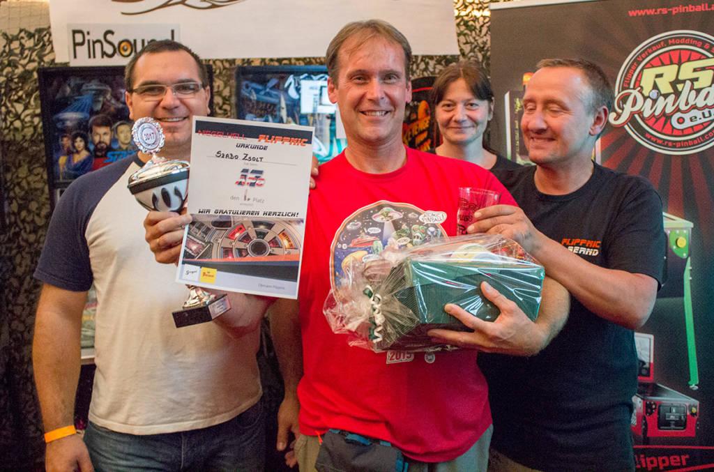 Winner of the Austrian Pinball Open 2017, Zsolt Szabo