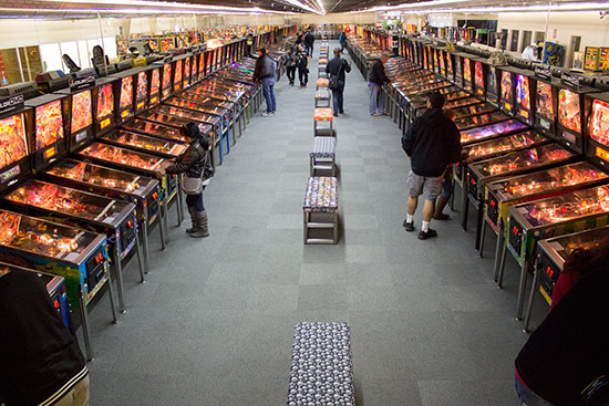 The pinball collection