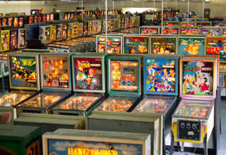 Games at the Museum of Pinball