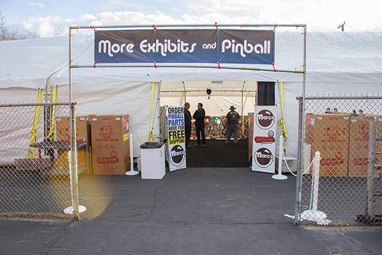 The vendor tent