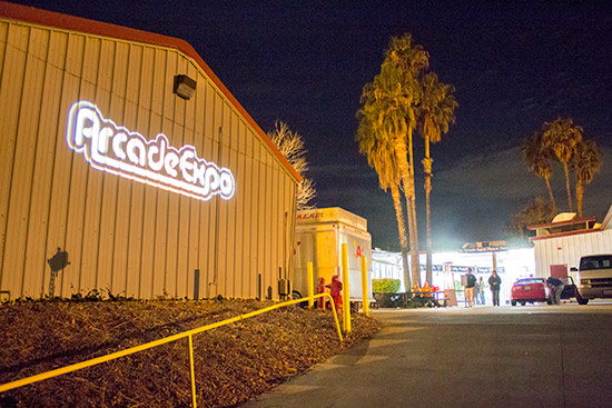 Good night from Arcade Expo