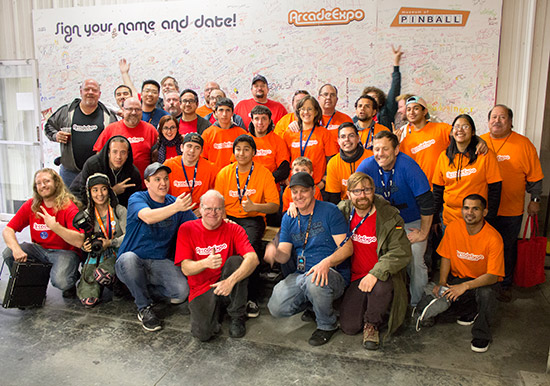 The team behind Arcade Expo 2016