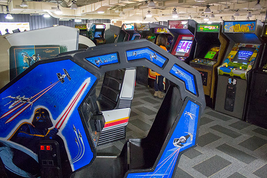 Some of the games in the Museum's collection