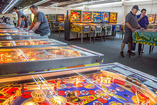 Part of the Bally electromechanical games section