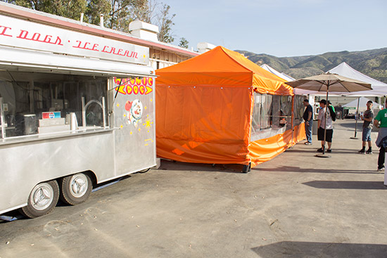 Ice cream, drinks, burgers, hot dogs and more from these food vendors