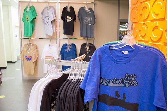 Arcade Expo T-shirts