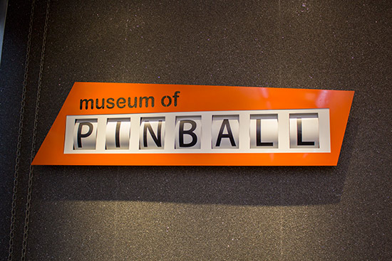 The main Museum sign