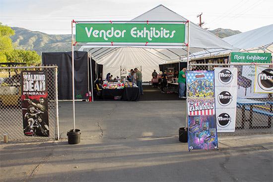 Into the vendor area