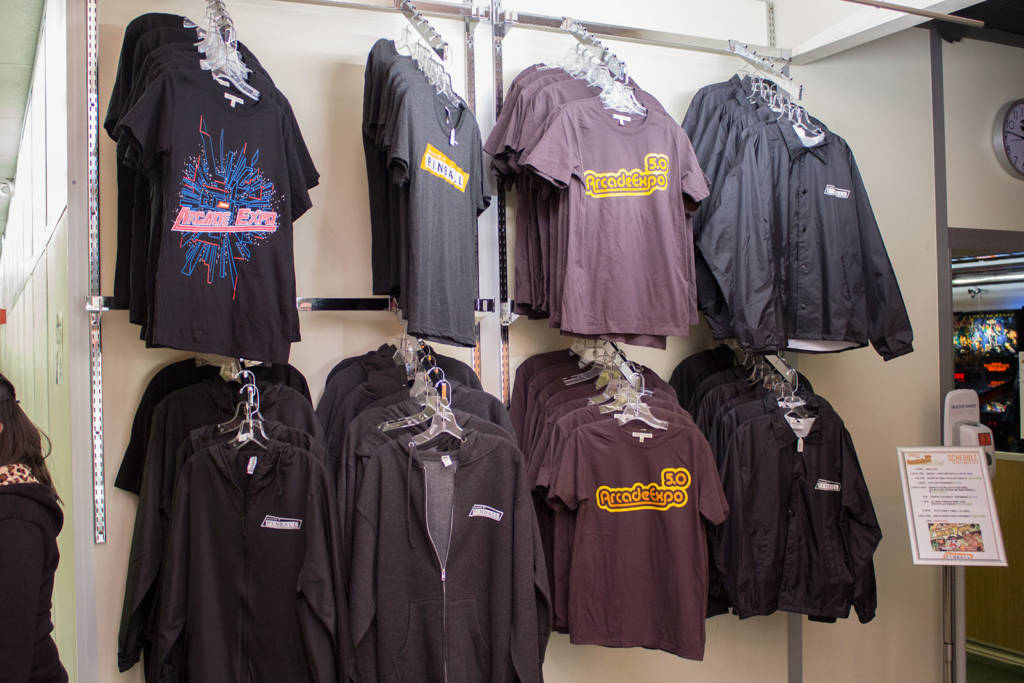 More shirts just outside the gift shop