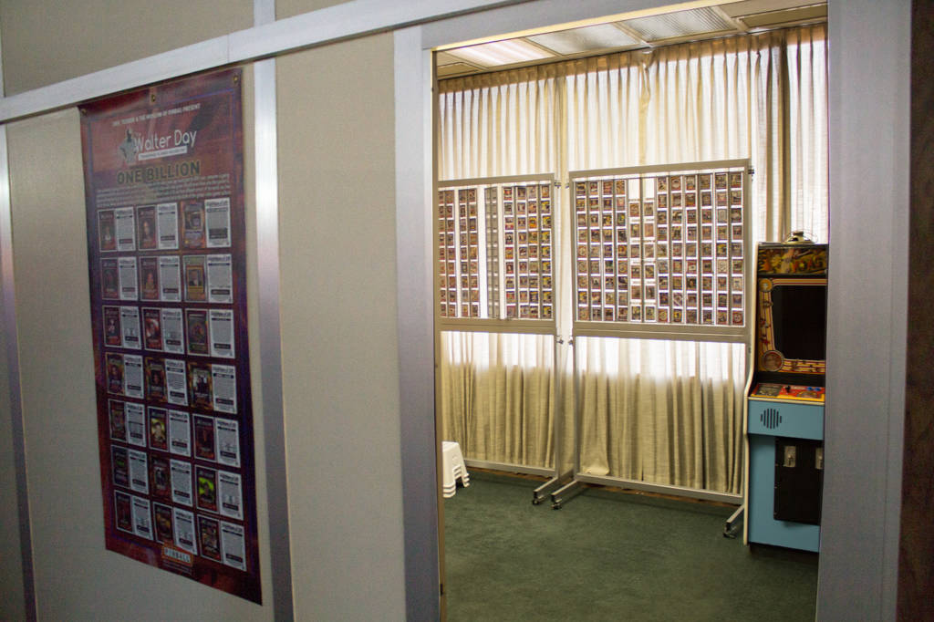 The Walter Day Trading Cards room