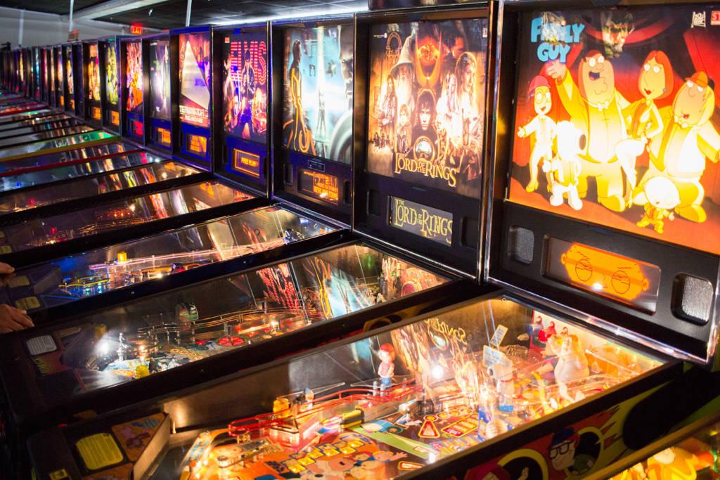 Stern Pinball games