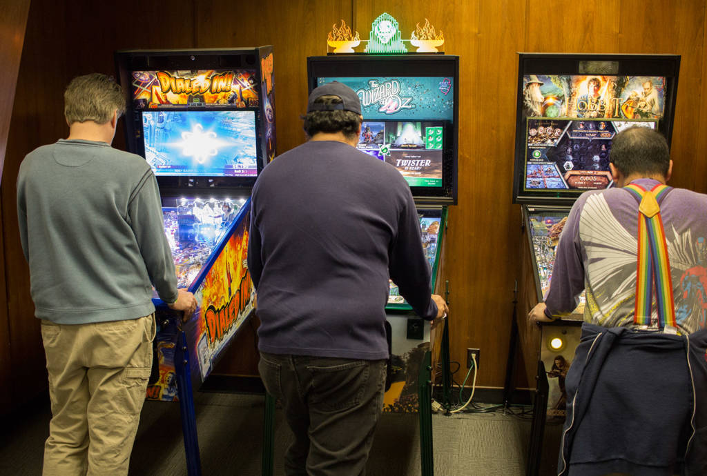 The Jersey Jack Pinball collection: Dialed In!, The Wizard of Oz and The Hobbit