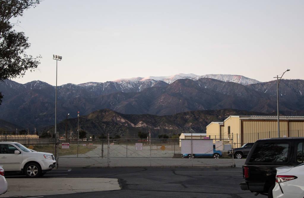 The hills surrounding the Museum of Pinball