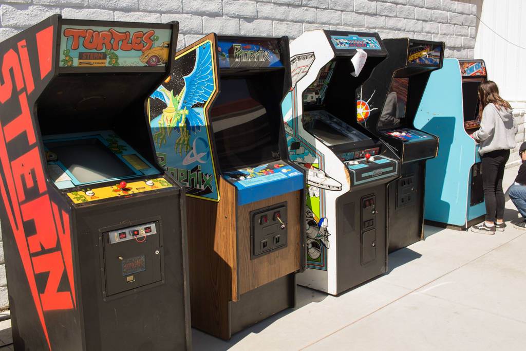 Starcade video games