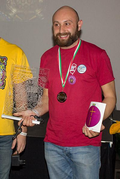 Third place, Daniele Celestino Acciari