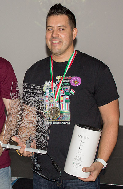 Second place, Gabor Solymosi