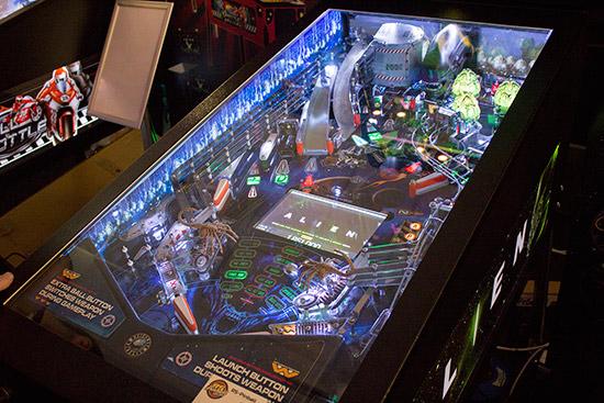 Alien's playfield