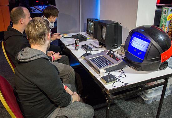 The retro computing section