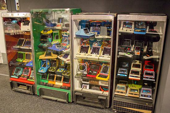 Retro consoles and handhelds