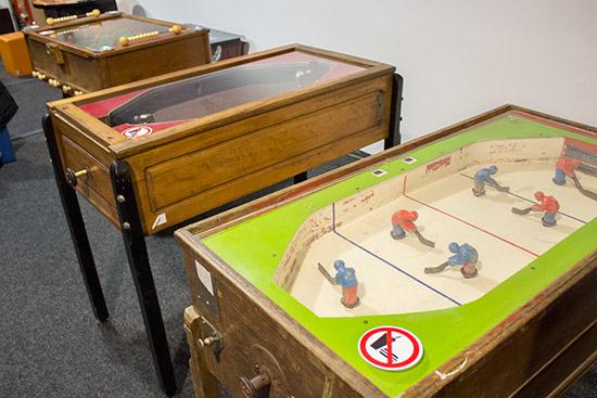 Some older mechanical games