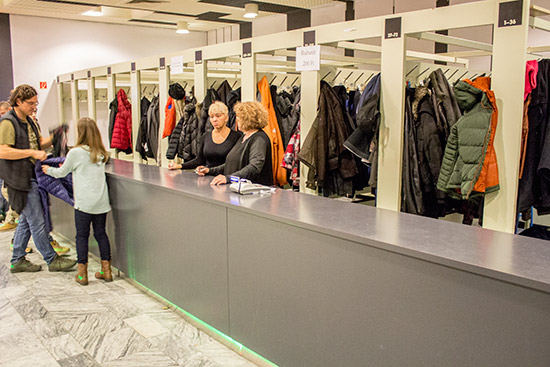 Coat storage cost 200HUF ($0.70/?0.64/£0.55) a day