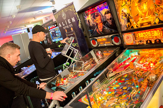 RS Pinball were representing both Heighway Pinball and PinSound